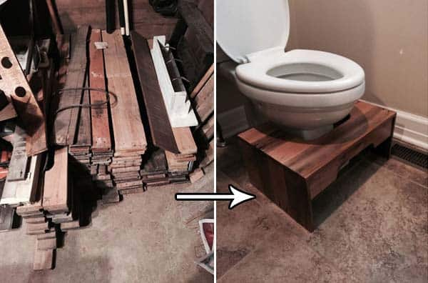 3 Design A Step Stool From Wooden Pallets Easy To Do Fun Bathroom DIY Projects For Kids