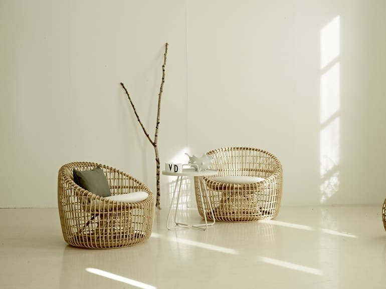 rattan chair seats of great beauty