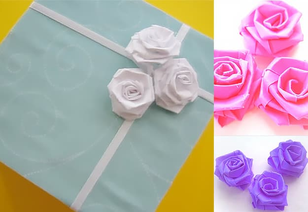 17 Learn How To Build Easy Paper Roses