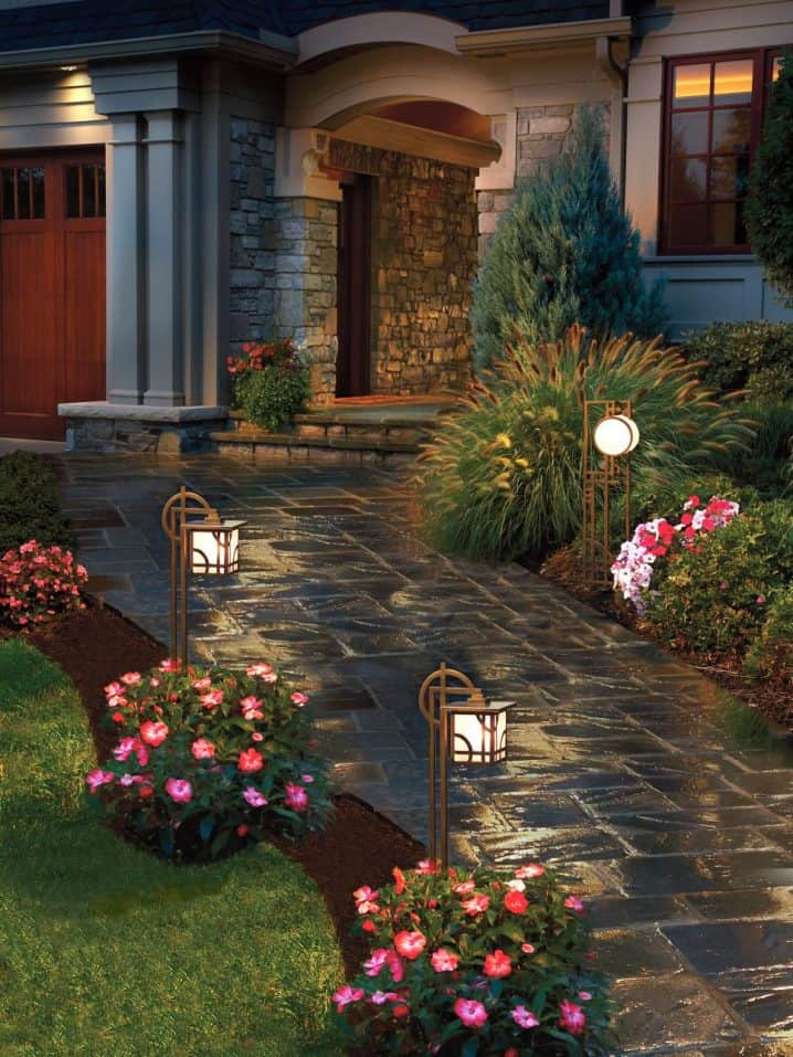 10 Beautiful Ways To Add Light on Your Garden Paths (1)