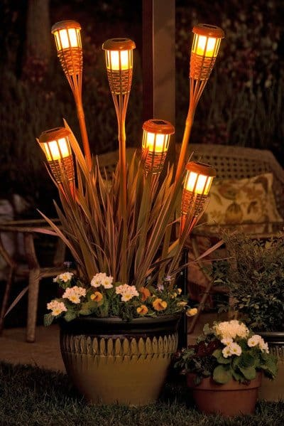 10 Beautiful Ways To Add Light on Your Garden Paths (2)