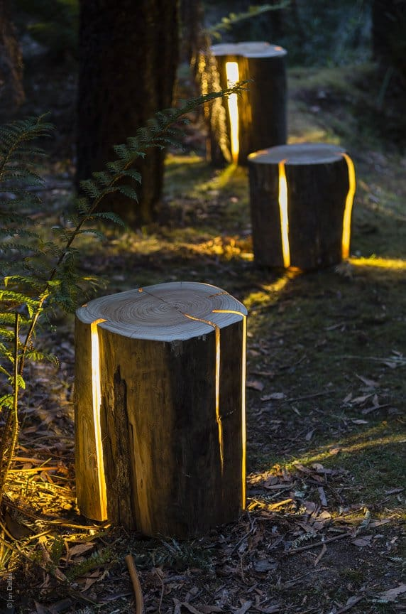 10 Beautiful Ways To Add Light on Your Garden Paths (6)