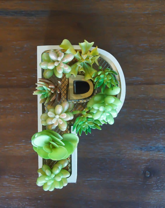 15 Spectacular Succulent Wreaths and Monograms That Will Transform Your Porch (14)
