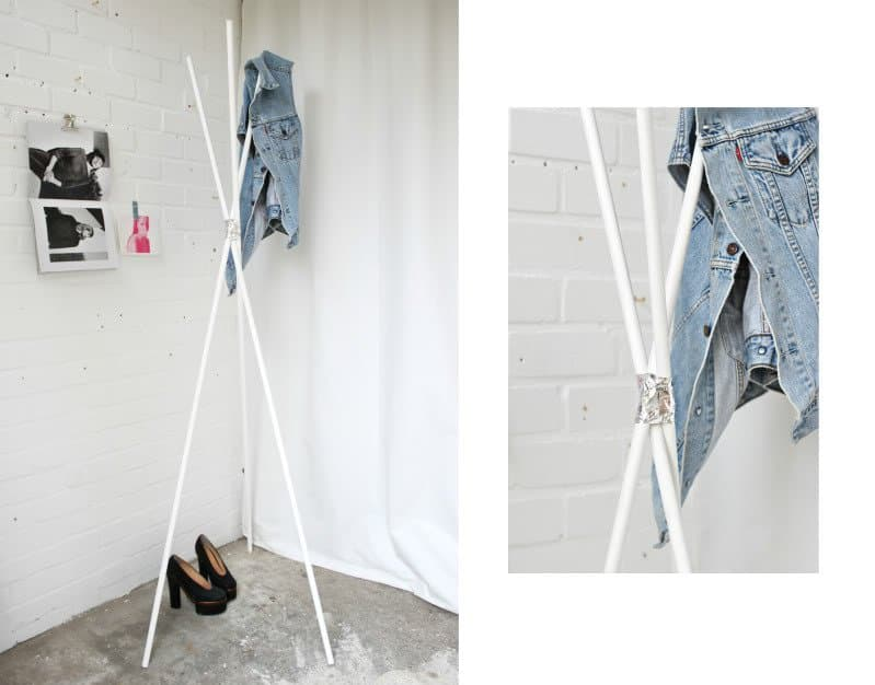 40 Super Cool DIY Coat Rack Projects Worth Following Homesthetics Impressive Making A Coat Rack