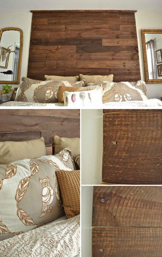 14. Add A DIY Palette Headboard To Your Bedroom