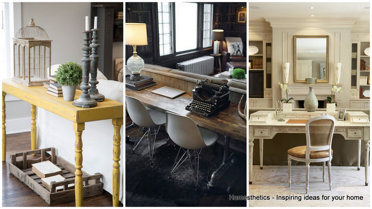How To Decorate Your Living Room With Gorgeous Sofa Tables