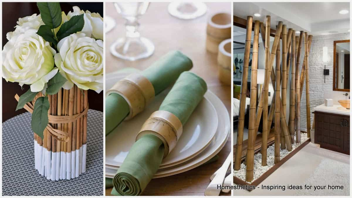 18 Epic Bamboo Crafts For Your Home And Decor Homesthetics