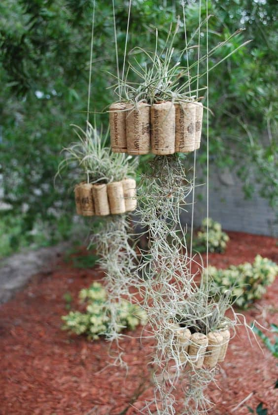 Ingenious Wine Cork Planters For Your Little Plants (10)