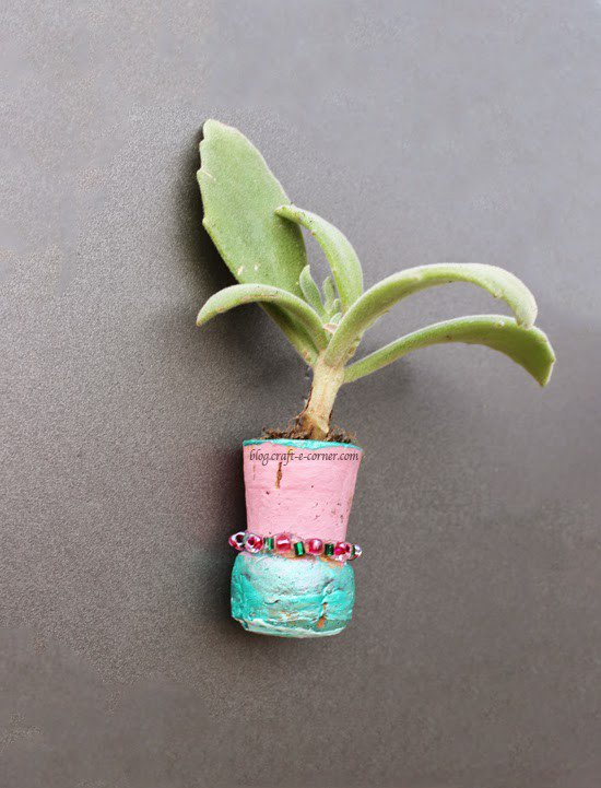 Ingenious Wine Cork Planters For Your Little Plants (2)