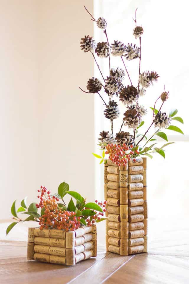 Ingenious Wine Cork Planters For Your Little Plants (6)