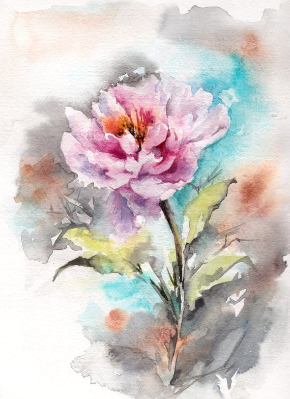 learn the basic watercolor painting techniques for