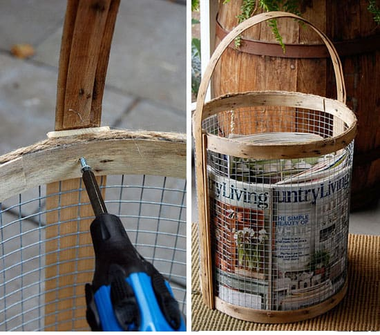Make-a-Rustic-Basket-with-Chicken-Wire