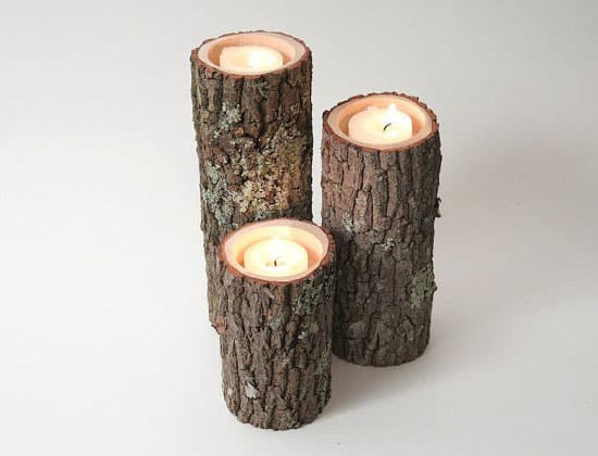 Rustic-Chic-Candle-Holders-Made-from-Tree-Branches