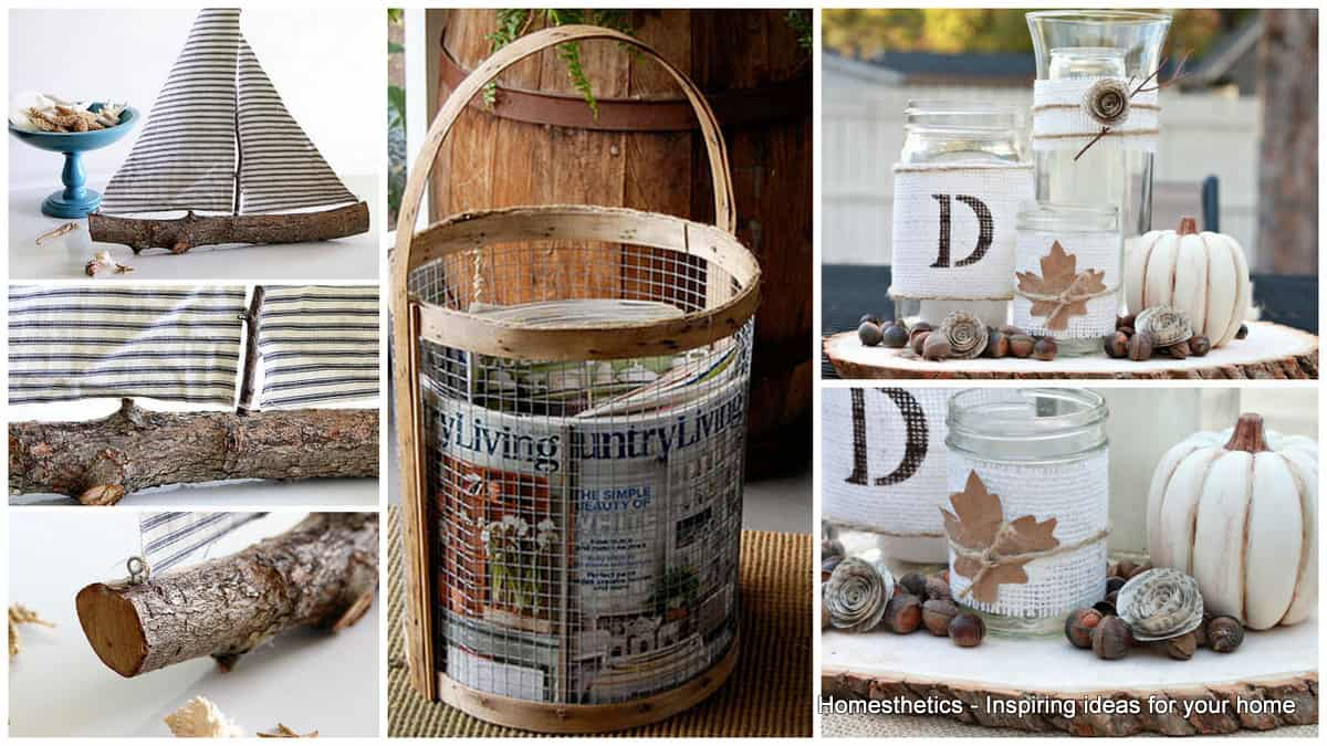 27 diy rustic decor ideas for a cozy home homesthetics for Home decorating rustic ideas