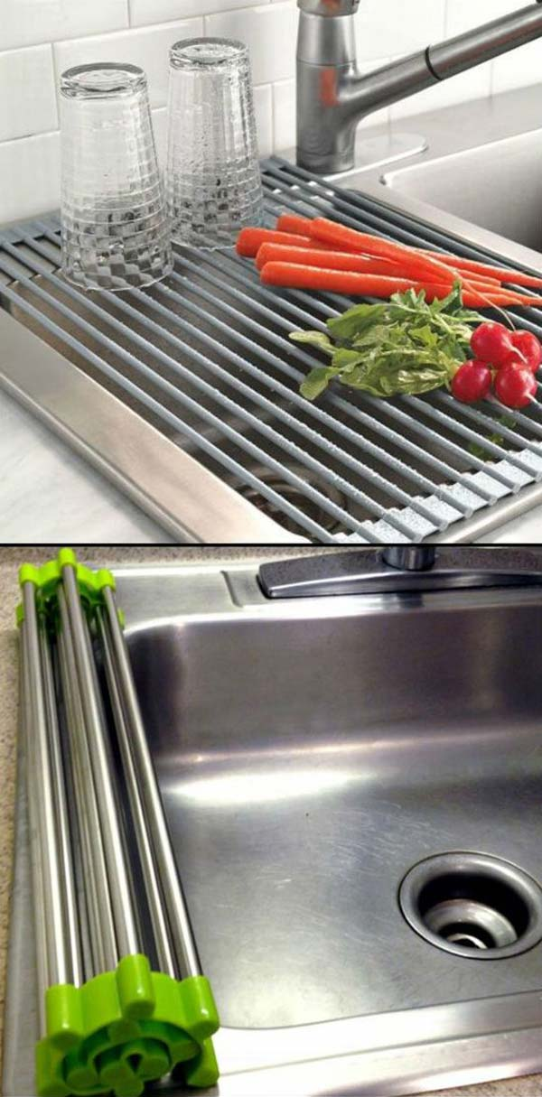 34 Super Epic Small Kitchen Hacks For Your Household homesthetics decor (1)