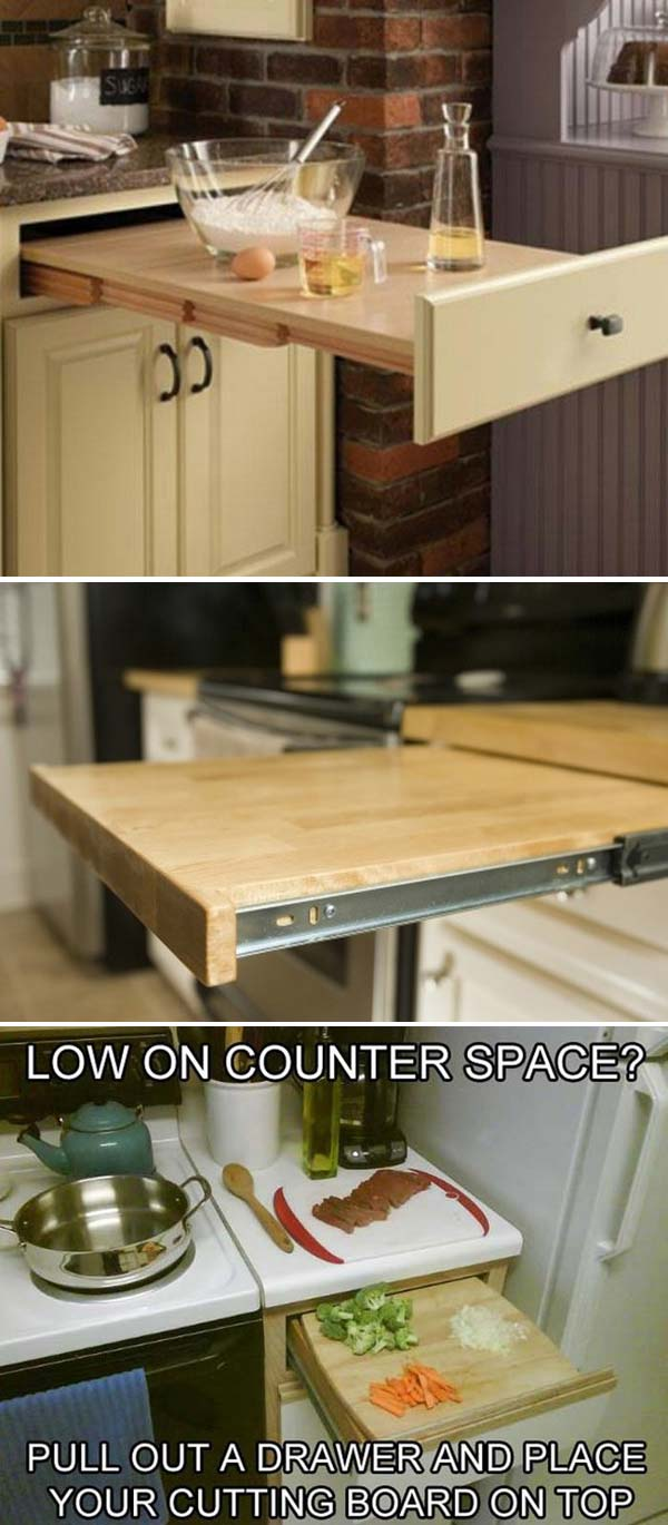 34 Super Epic Small Kitchen Hacks For Your Household homesthetics decor (18)