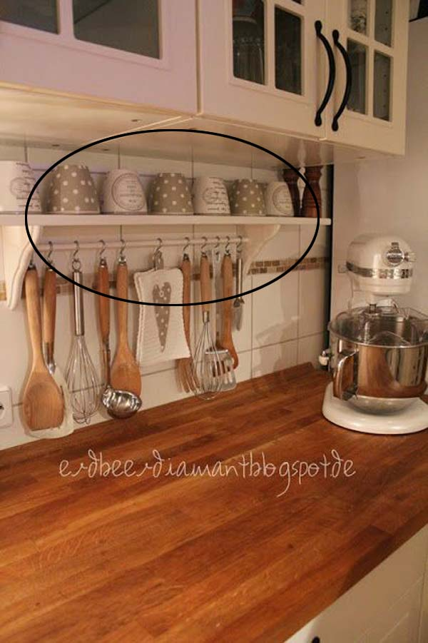34 Super Epic Small Kitchen Hacks For Your Household homesthetics decor (23)