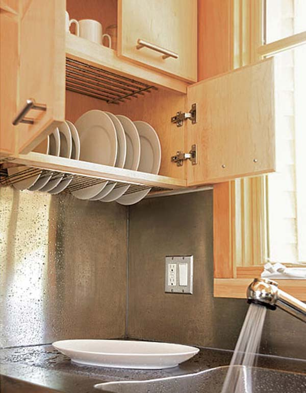 34 Super Epic Small Kitchen Hacks For Your Household homesthetics decor (3)