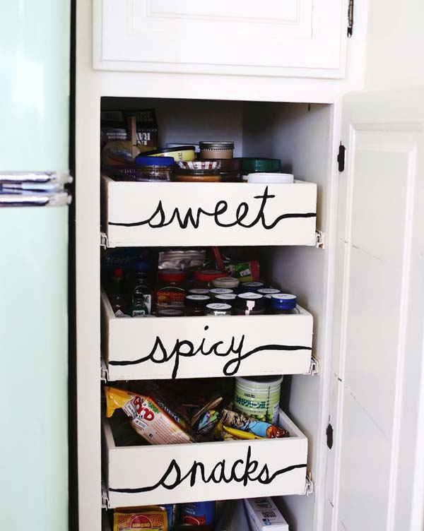 34 Super Epic Small Kitchen Hacks For Your Household homesthetics decor (4)