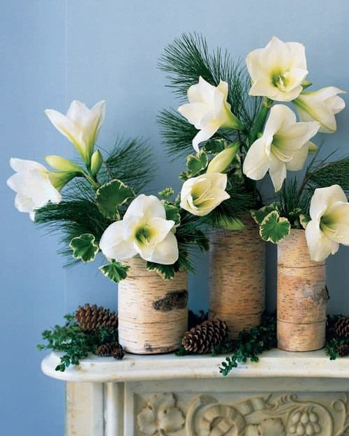 Add Glamour and Rustic Vibe With Tree Stump Vases-homesthetics (12)
