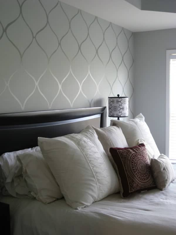 DIY-Faux-Wallpaper-Accent-Wall