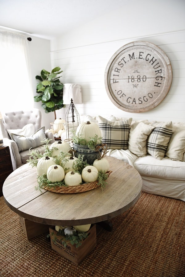 Home Decorating Ideas Farmhouse Nice 99 Modern Farmhouse: Delicate Fall Decor Ideas For The Upcoming Autumn