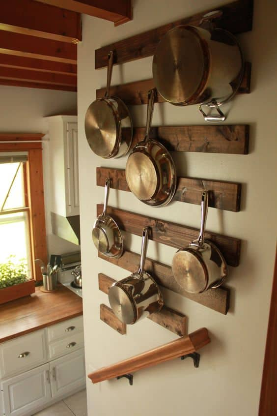 Beau Emphasize Small Spaces With Kitchen Wall Storage Ideas Homesthetics (1)