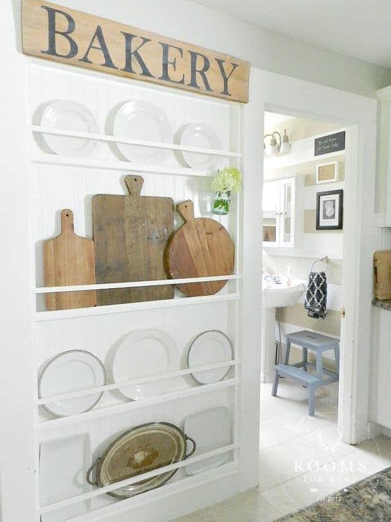 Emphasize Small Spaces With Kitchen Wall Storage Ideas .