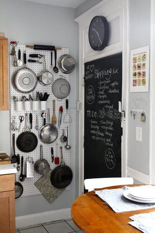 Ideas For A Very Small Kitchen Part - 42: Amazing Emphasize Small Spaces With Kitchen Wall Storage Ideas Homesthetics