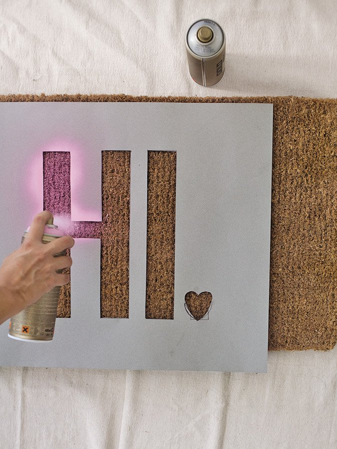 How To Get Creative With DIY Door Mats-HOMESTHETICS (10)