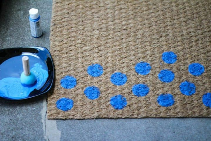 How To Get Creative With DIY Door Mats-HOMESTHETICS (5)