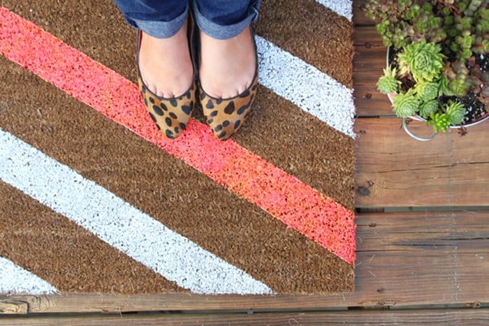 How To Get Creative With DIY Door Mats-HOMESTHETICS (8)