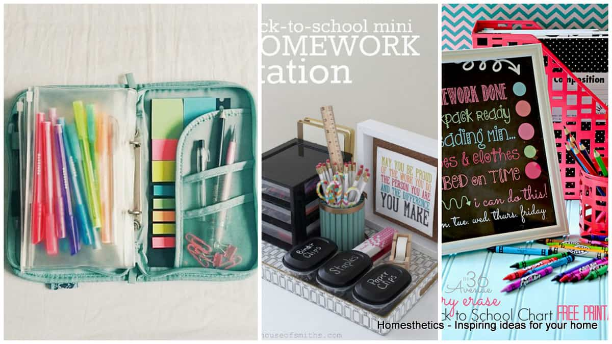 Prepare For The New School Year With Practical Organizational Ideas