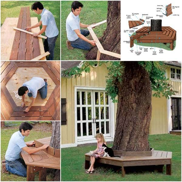Simply Spectacular Cozy Seats Around a Tree homesthetics (14)