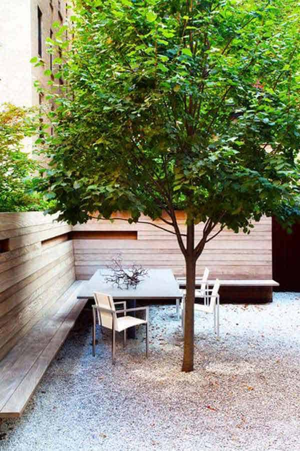 Simply Spectacular Cozy Seats Around a Tree homesthetics (22)