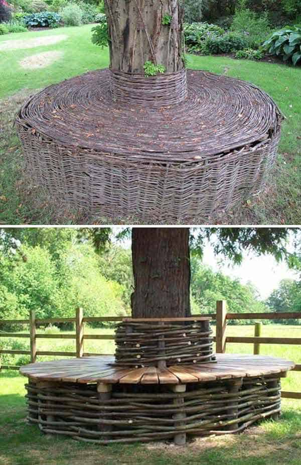 Large Tree Trunk Ideas