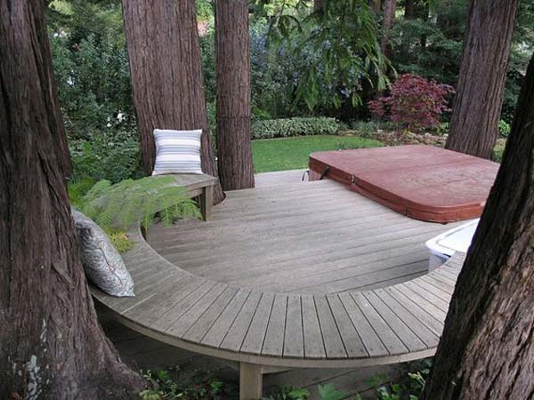Simply Spectacular Cozy Seats Around a Tree homesthetics (9)