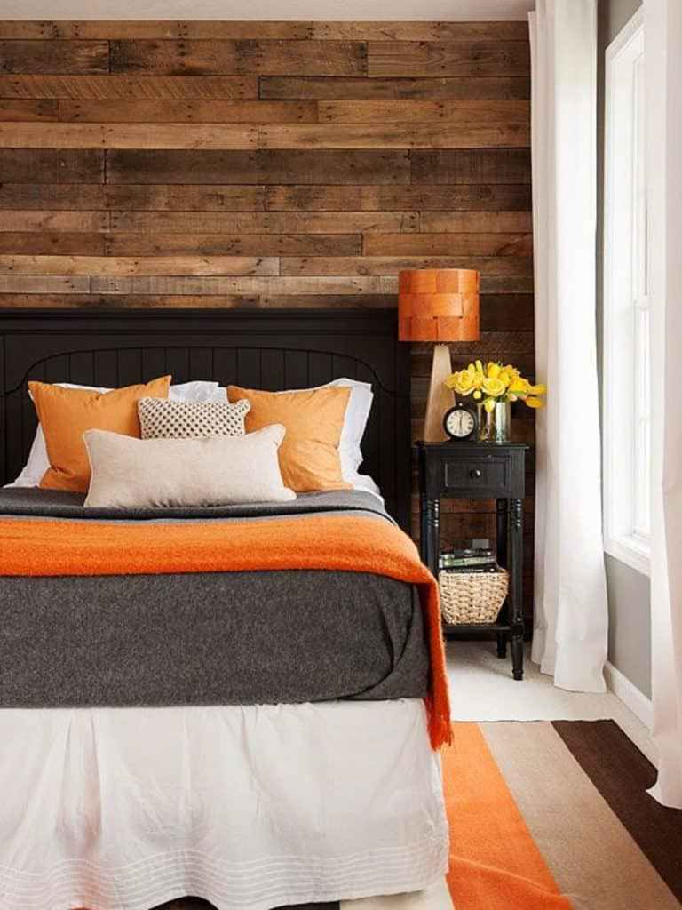 1. WOOD WALL ACCENT IDEAS