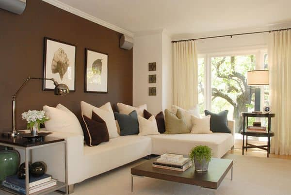 brown-accent-wall-design