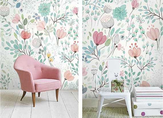 WALLPAPER WALL ACCENT IDEAS
