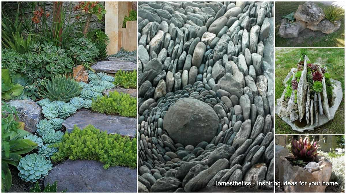 Rock garden ideas to implement in your backyard for Ideas for your garden
