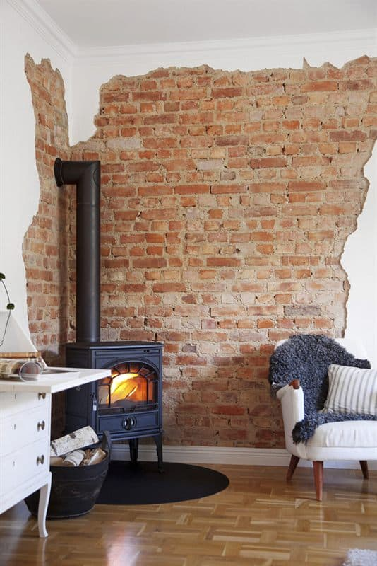 BRICK WALL ACCENT IDEAS