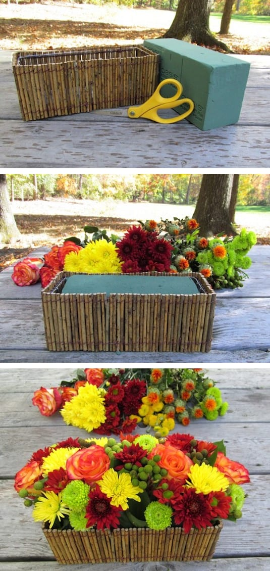 11.-Floral-foam-to-the-rescue-Use-it-to-keep-flowers-in-place-especially-in-odd-shaped-containers.-13-Clever-Flower-Arrangement-Tips-Tricks