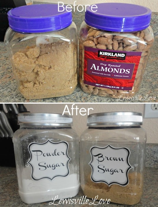 14.-Re-purpose-canisters-for-the-pantry-29-Cool-Spray-Paint-Ideas-That-Will-Save-You-A-Ton-Of-Money-