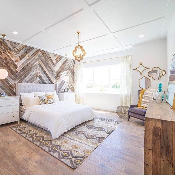 17 Extraordinary Graphic Ways to Use Wood Walls Indoors (8)
