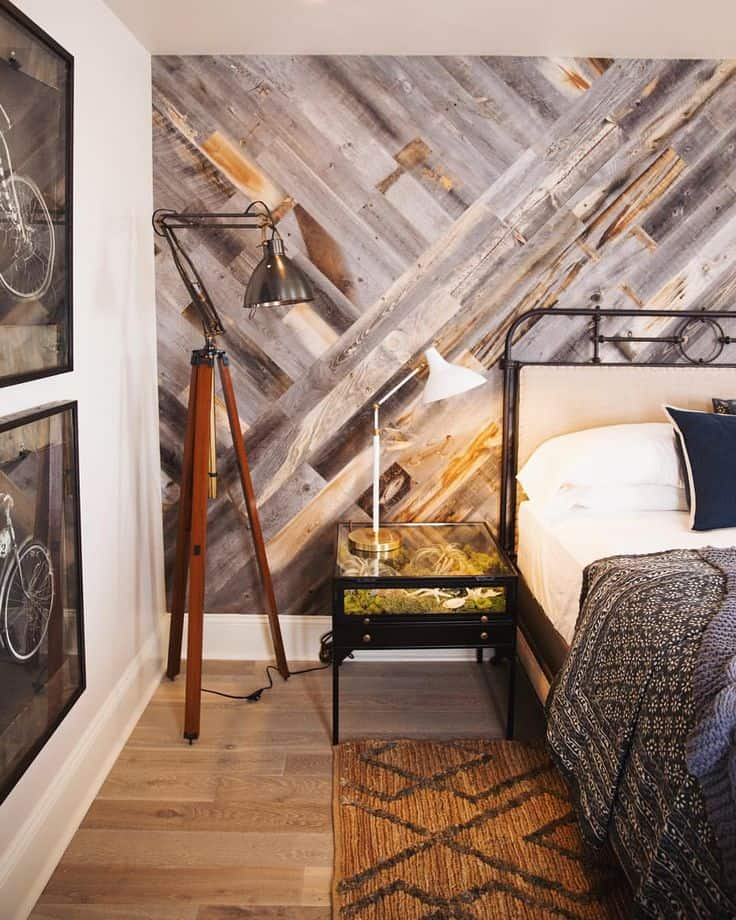 17 Extraordinary Graphic Ways to Use Wood Walls Indoors (9)