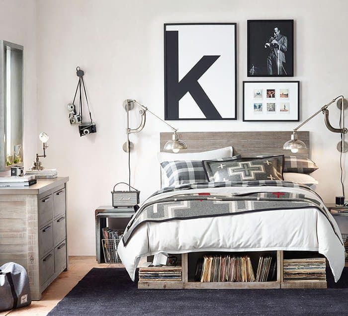 1. Airy Timeless Industrial Bedroom. 18 Brilliant Teenage Boys ...