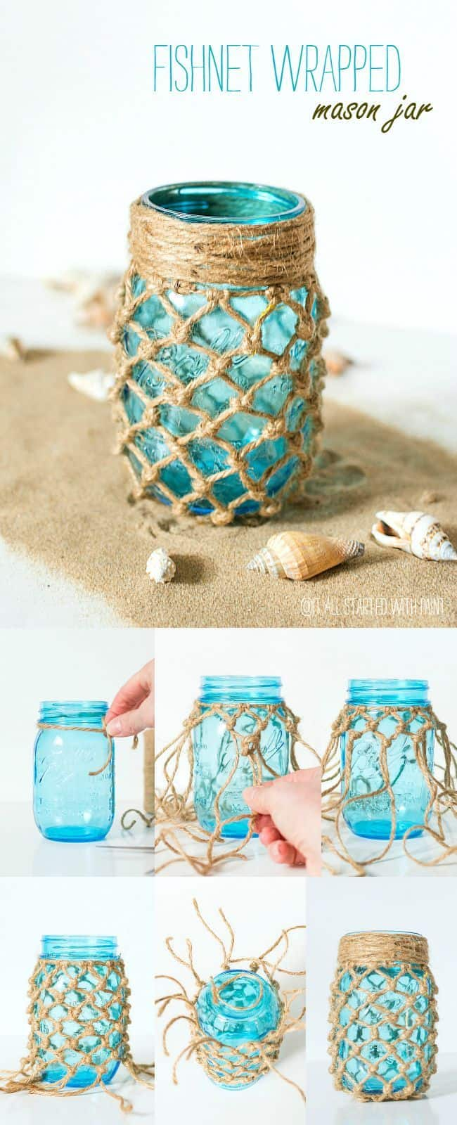 209550-fishnet-wrapped-mason-jars
