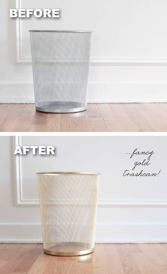 26.-Trashcan-makeover-using-spray-paint-29-Cool-Spray-Paint-Ideas-That-Will-Save-You-A-Ton-Of-Money