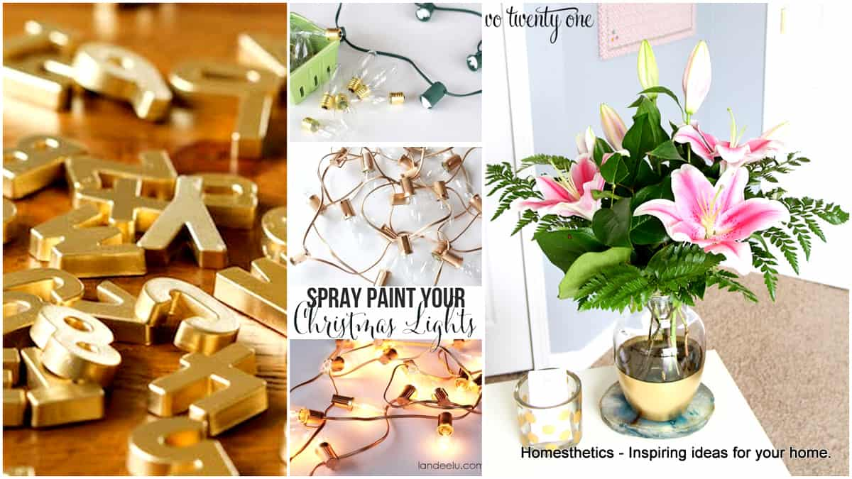 29 Smart Spray Paint Ideas That Will Save You Money Swifly